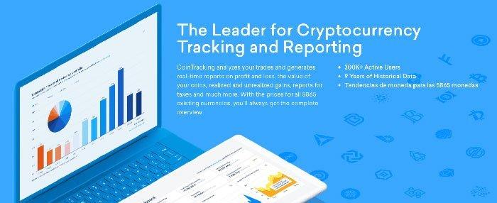 CoinTracking portafolio de criptomonedas